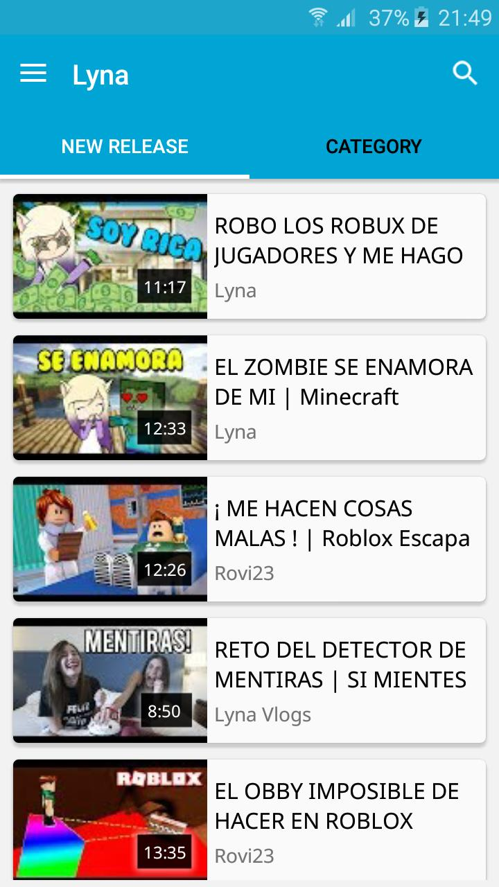 Youtuber Lyna Youtuber Fotos De Roblox Personajes Lyna For Android Apk Download