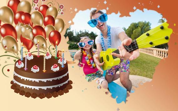Birthday Photo Frames Maker poster