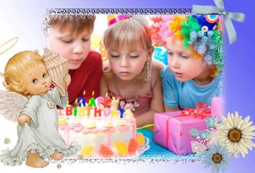 Birthday Photo Frames Maker apk screenshot