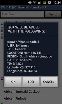 Lynx BirdTicks SAF Trial apk screenshot