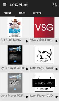 LYNX Player poster