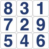 Hidden numbers icon