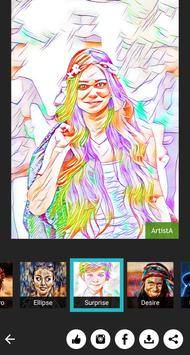 Art Filter Photo Editor & Oil Painting Darkroom apk screenshot