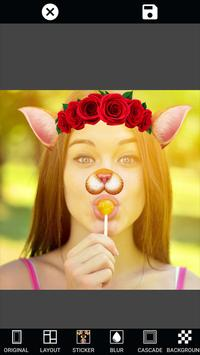 Selfie Camera Editor: Pic Stickers & Photo Filters screenshot 15