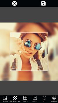 PIP Selfie Camera Photo Editor captura de pantalla de la apk