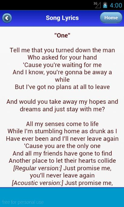 Ed Sheeran Lyrics Album 2016 for Android - APK Download