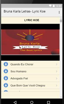 Bruna Karla - Letras apk screenshot