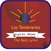 Los Temerarios Letras icon