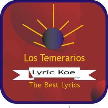 Los Temerarios Letras poster