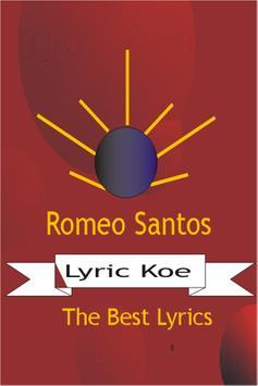 Romeo Santos Letras apk screenshot