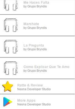 Grupo Bryndis Letras apk screenshot