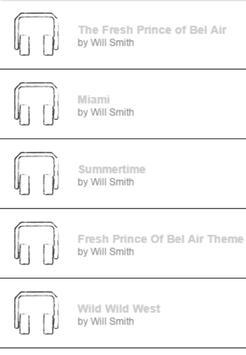 Will Smith Lyrics & Song screenshot 1