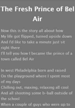 Will Smith Lyrics & Song screenshot 3