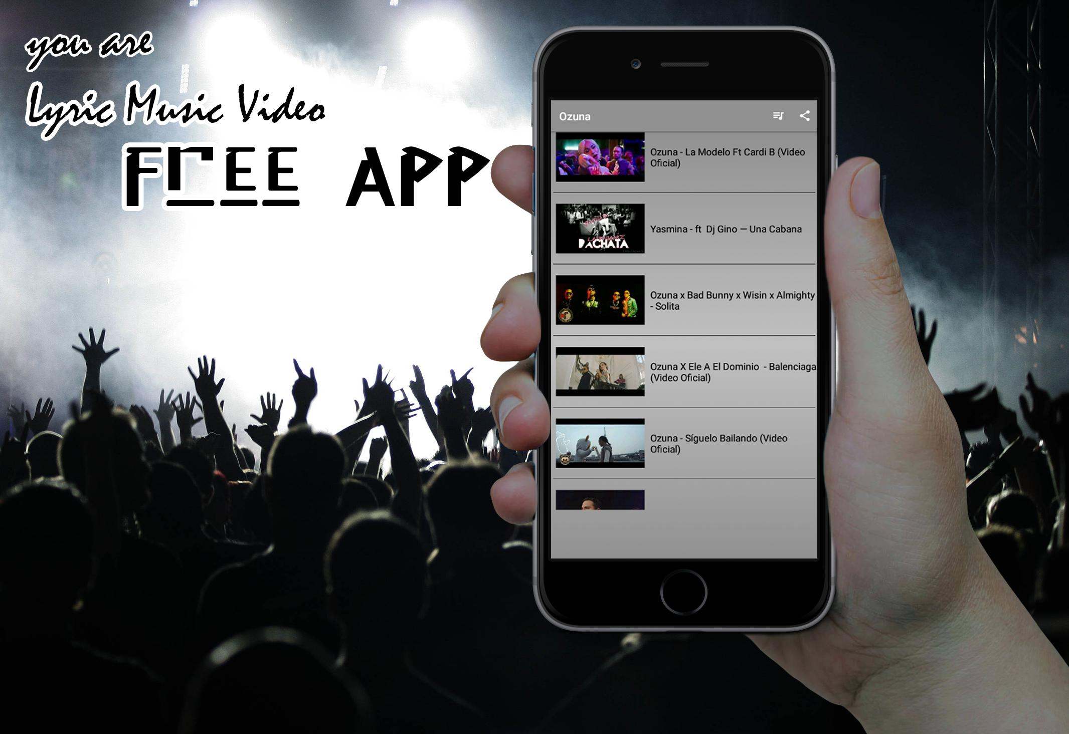 Ozuna App Lyric Music Video for Android - APK Download