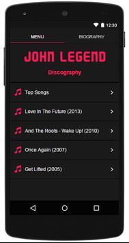 John Legend Top Lyrics poster