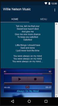 Willie Nelson Music&Lyrics screenshot 1