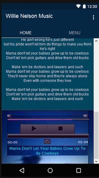 Willie Nelson Music&Lyrics screenshot 2