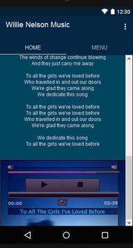Willie Nelson Music&Lyrics screenshot 5