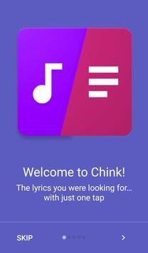 Chink Lyrics poster