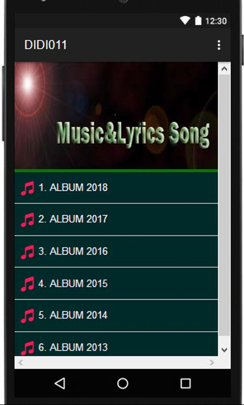 Chris Brown: Song Lyrics All Albums for Android - APK Download