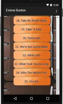 Emma Bunton Lyric Songs apk screenshot