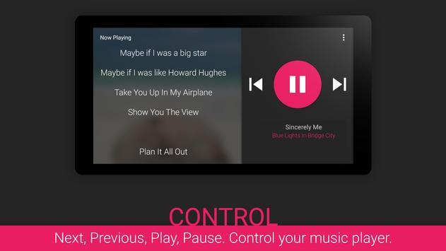 Lyrics screenshot 4