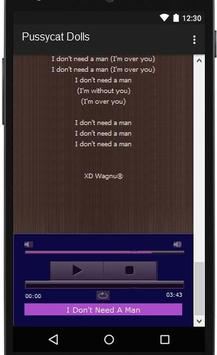 Pussycat Dolls Lyrics apk screenshot