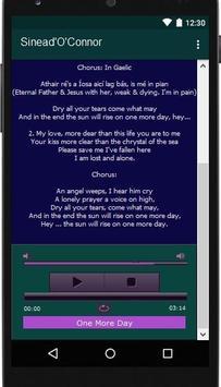 Sinead'O'Connor Lyrics Music screenshot 2