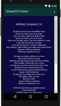 Sinead'O'Connor Lyrics Music screenshot 4