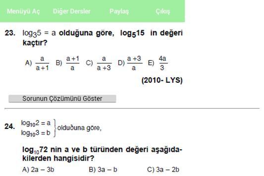 LYS Matematik screenshot 5