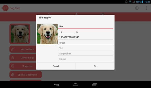 Dog Care screenshot 10