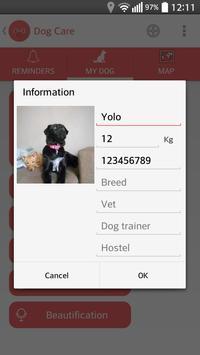 Dog Care screenshot 5