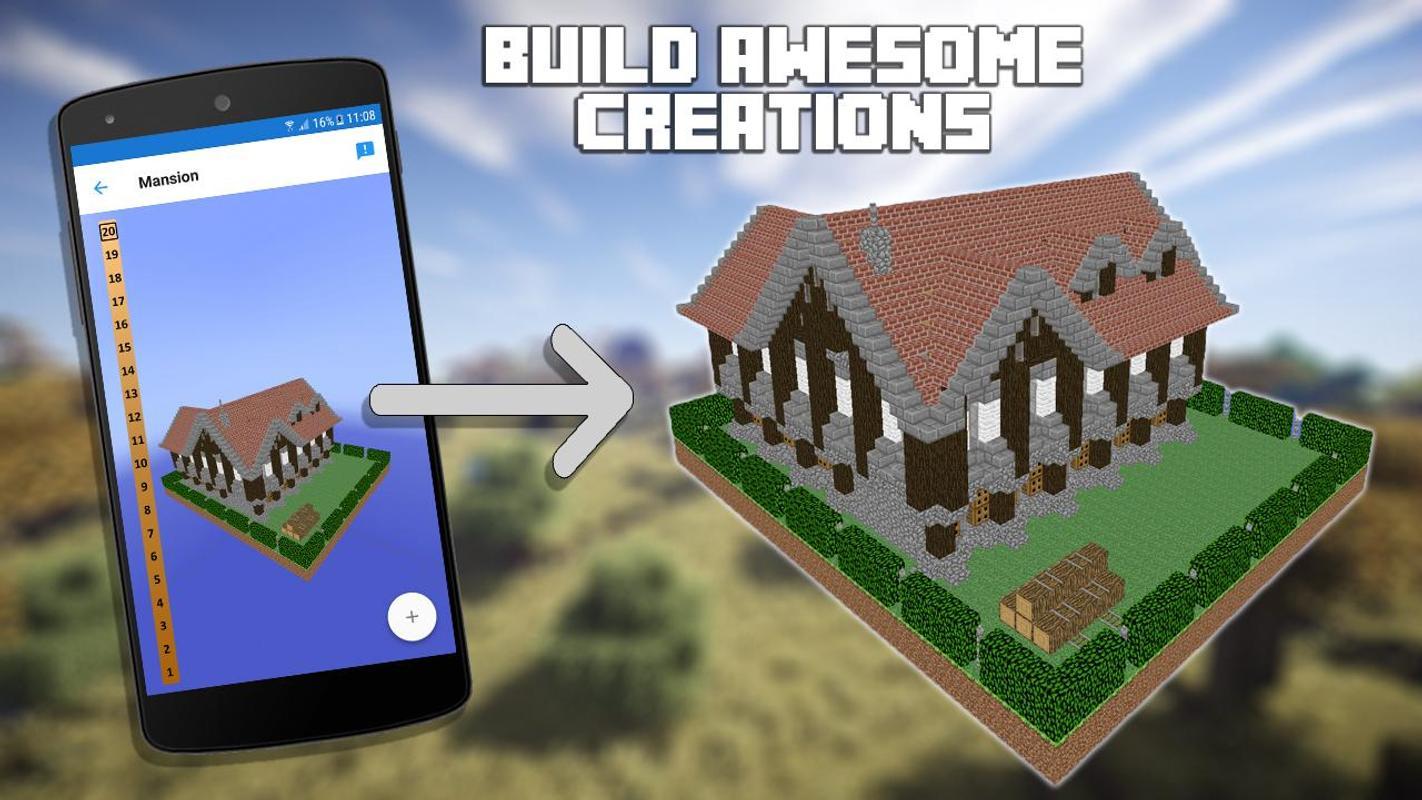 3d blueprints for minecraft apk baixar gr tis for App for blueprints