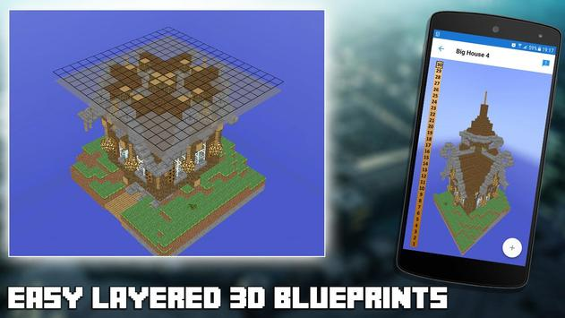 3d blueprints for minecraft apk download free entertainment app 3d blueprints for minecraft apk screenshot malvernweather Gallery