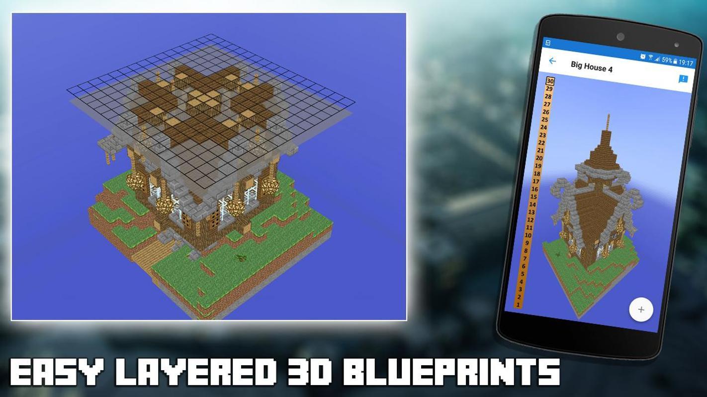 3D Blaupausen for Minecraft APK-Download - Kostenlos Unterhaltung ...