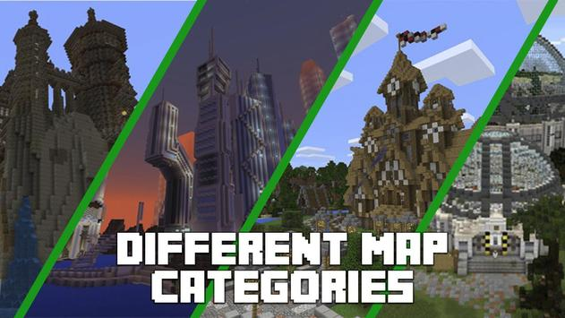 Mapas para Minecraft PE captura de pantalla 5