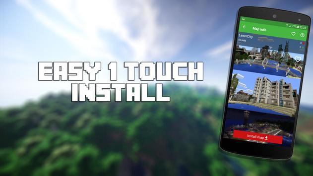 Mapas para Minecraft PE captura de pantalla 10