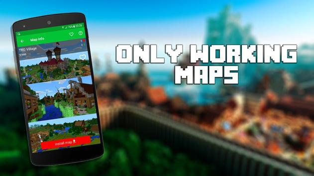 Mapas para Minecraft PE captura de pantalla 11