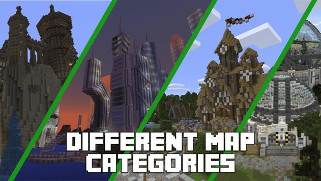 Mapas para Minecraft PE captura de pantalla 1