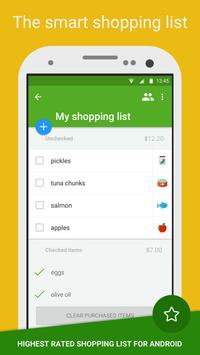 Grocery Shopping List - Listonic apk screenshot