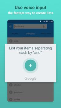 Grocery Shopping List - Listonic screenshot 5