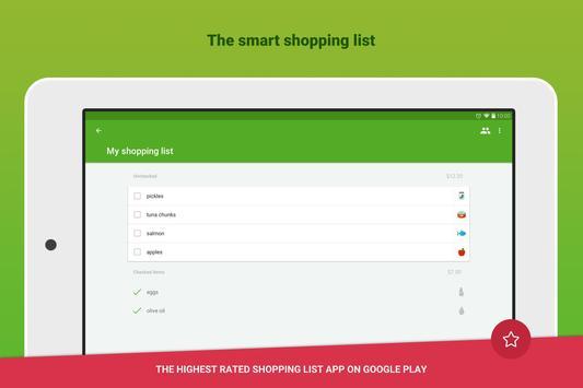 Grocery Shopping List - Listonic screenshot 6