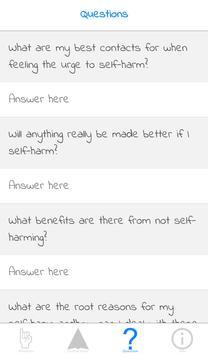 Self Harm Recovery apk screenshot