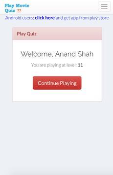 Play Movie Quiz apk screenshot