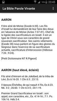 La Bible Palore Vivante - MP3 apk screenshot
