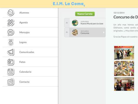 E.I.M. La Coma Profesor apk screenshot