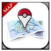 PokeMap : Lacak Pokemon GO icon