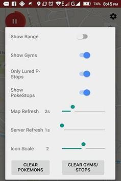 PokeMap : Lacak Pokemon GO apk screenshot