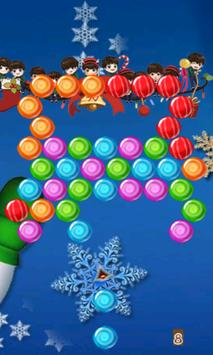 Winter Bubble Shooter screenshot 1