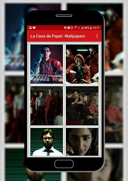 Money Heist La Casa de Papel - Mobile Wallpapers for Android